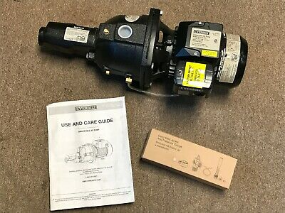 Everbilt 3/4 HP Convertible Jet Pump Model DP370C