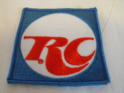 Vintage RC Cola Soda Advertising Small Cloth Shirt Hat Patch 1980s Uniform