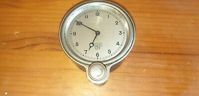 Vintage 1920s-30s Smiths MA L Dashboard Type Mounted Clock Front Winder For Car