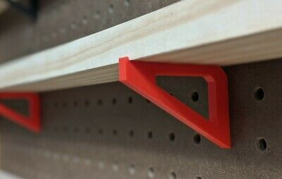 PegBoard Accessory Brackets for Mini Shelf - Multi-Color & FREE SHIPPING