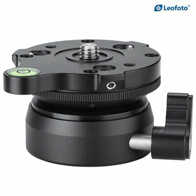 LEOFOTO LB-66 Adjustable HemisphereTripod Head Leveling Base