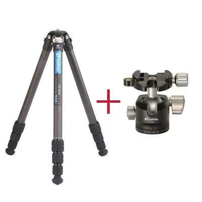 Leofoto Ls-254C Tripod With Lh-30 Ballhead Kit Travel Tripod