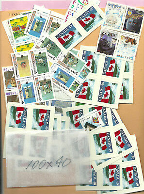 CANADA POSTAGE 100x40cent mint never hinged Your price $32.00