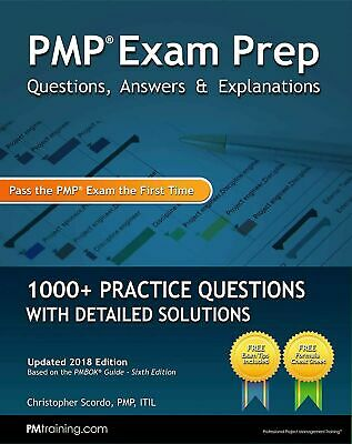 PMP Exam Prep Questions, Answers,& 1000+ Practice Questions 2018 [PD̲F] FAST S..