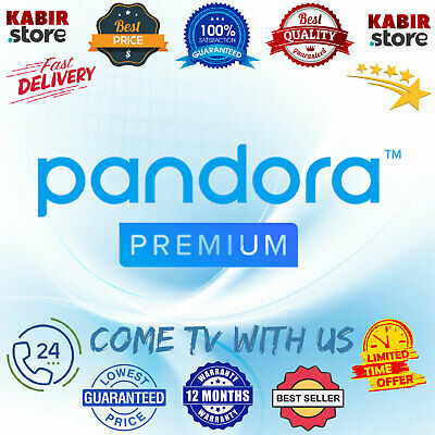 PANDORA Premium Account ✨Annual Subscription ✅1 Year Warranty ✅Fast Delivery