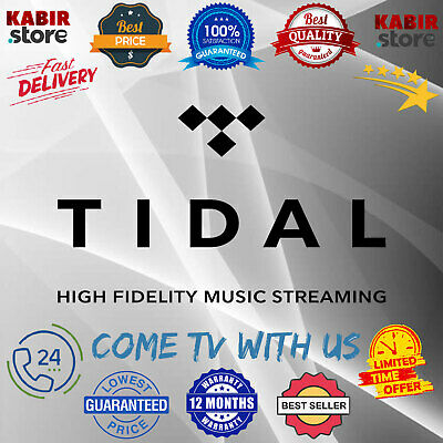 TIDAL HI FI Premium Account ✅1 Year Warranty ✅ Fast delivery