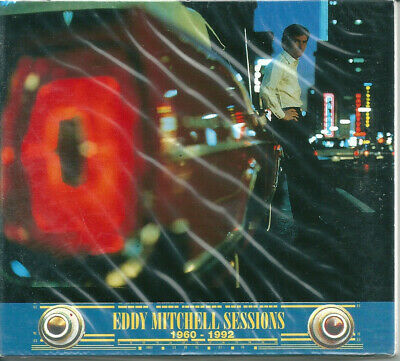 Eddy Mitchell - Sessions 1960-1992 CD 14 titres digipack promo only 1994 France