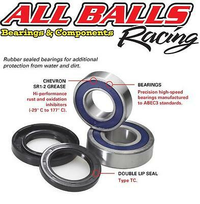 Front Wheel Bearings & Seals Kit for Suzuki GSXR750 By AllBalls Racing