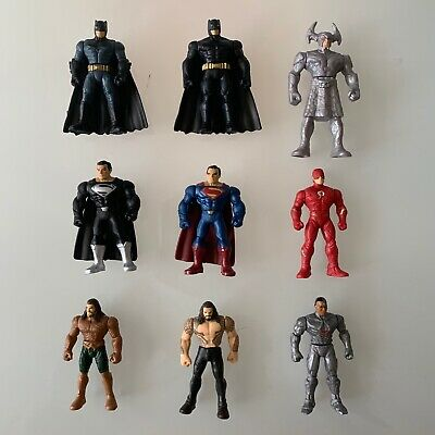 COMPLETE SET Justice League Mighty Minis Lot Of 7 Mini Figure Blind Bag Series 1
