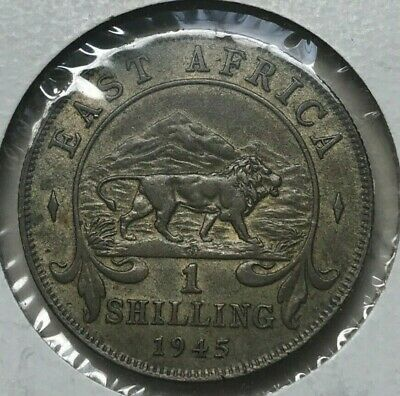 1945 British East Africa 1 One Shilling