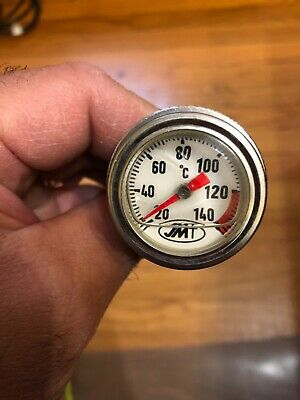 Oil Dipstick Thermometer Temperature Gauge for Yamaha SR TT XT500