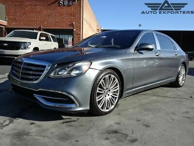 2018 Mercedes-Benz Maybach S 560 2018 Mercedes-Benz Maybach S 560 Salvage Damaged Vehicle! Priced To Sell! L@@K!!