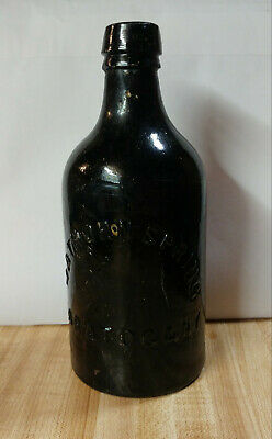 Late 1800's HATHORN SPRINGS SARATOGA,NY mineral watter bottle
