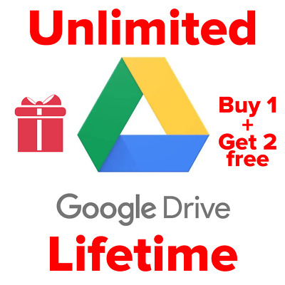 Unlimited Google Drive for your existing account - [Team Drive] Buy 1 get 2 FREE