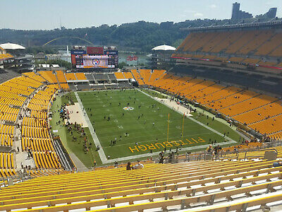 Pittsburgh Steelers vs Baltimore Ravens / THANKSGIVING night - 2 seats together