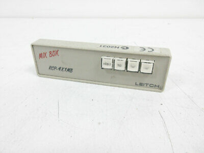 Leitch Rcp-4X1Mb Remote Control Panel