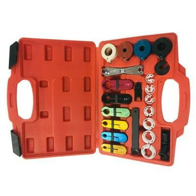 22pcs A/C Transmission Fuel & Air Line Disconnect Tool Set Fit For Ford GM Case