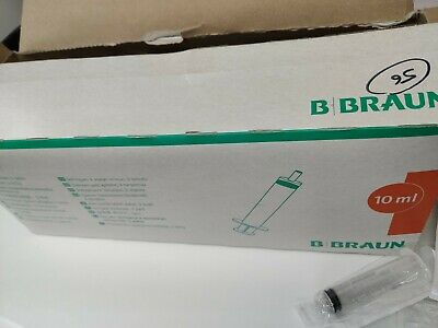Braun Omnifix 10ml Sterile Syringe Luer Lock Solo needles medical