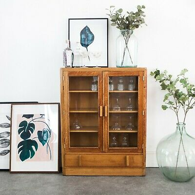 Mid Century glass-fronted Bookcase/Display Cabinet