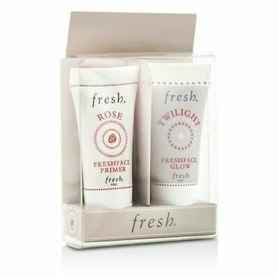 Fresh Prime & Glow Set: 1x Mini Rose Freshface Primer, 1x Mini Twilight 2x5ml
