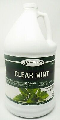 CarrollClean 756 Clear Mint Disinfectant Virucide and Cleaner 1 Gallon