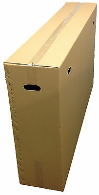 Large Cardboard Bike Box Bicycle BOX Extra Strength With carry Handles