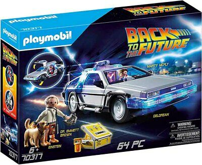 Playmobil Back to the Future DeLorean 70317 (for Kids 6 yrs old & up)