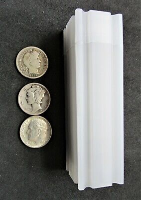 Mixed lot of 50 - $5.00 Face Value, 90% Silver Dimes, Roosevelt, Mercury, Barber