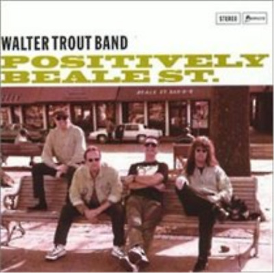 Walter Trout Band-Positively Beale St. CD NEUF