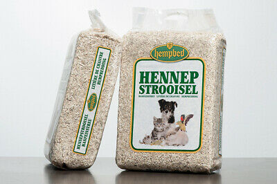 Hempbed 3Kg/27L Hemp Bedding for Reptiles, Rabbits, Horses, Chickens and Birds
