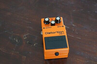 Vintage Boss Ds-1 Distortion (Japan) - Free Next Day Delivery In The Uk
