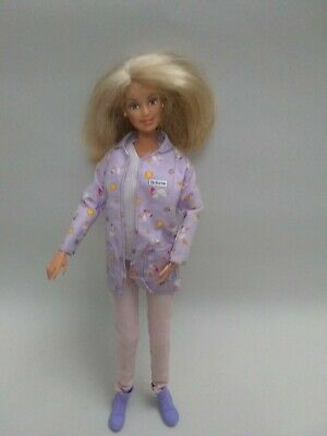 Barbie Happy Family Blonde Baby Doctor Midwife Doll with Original Outfit