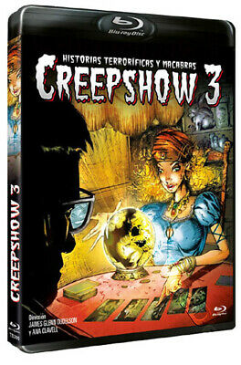 Creepshow 3 NEW Cult Blu-Ray Disc Ana Clavell Stephanie Pettee
