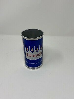 USBC 72-15 Hamm's Beer President's Message Aluminum Beer Can No Lid