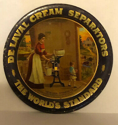 Very Nice De Laval Cream Separators Advertising Tip Tray