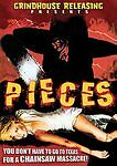 Pieces (Christopher George) halloween, nightmare on elm street, friday the 13th
