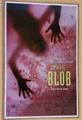 1958 THE BLOB WITH STEVE MCQUEEN VINTAGE MOVIE POSTER PRINT 24x16 9MIL PAPER