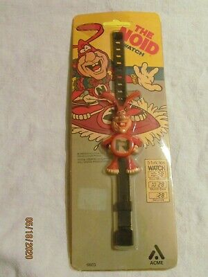 1988 The Noid Watch Domino's Pizza Promo Acme Co Wristwatch MIP