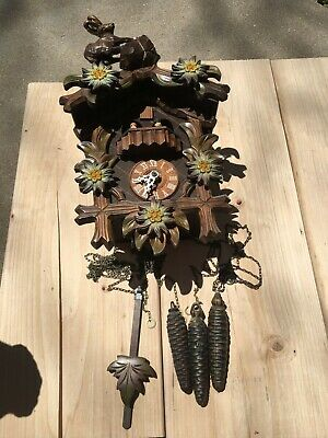 Antique/ Vintage German  Cuckoo Clock