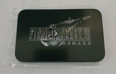 Final Fantasy VII Remake Shinra Electric Power Company ID Card With Tin
