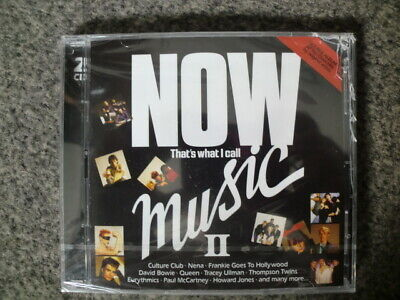 NOW THAT'S WHAT I CALL MUSIC 2 (2019 CD EDITION) *NEW & SEALED* 99p!