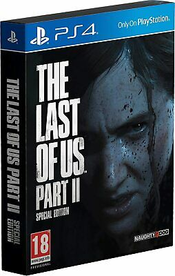 The Last Of Us Parte 2 Special Limited Edition Ps4 Italiano Play Station 4 Nuovo