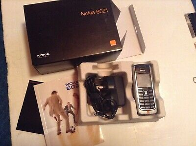 Nokia 6021 With Box/Charger And Instruction Manual