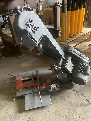 SIP Metal Cutting Bandsaw 145mm 230V bench mounted model