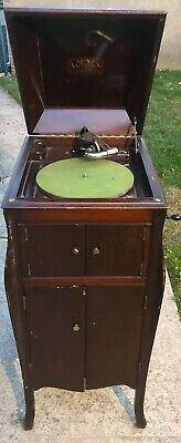 Victor Victrola Talking Machine Antique Phonograph