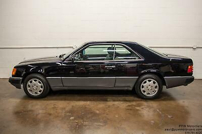 1993 Mercedes-Benz 300-Series 300CE 1993 Mercedes-Benz 300 Series 300CE Coupe Jet Black and Black Leather Serviced!