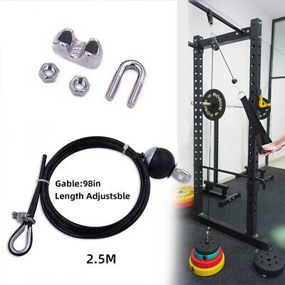 """Parabody Life Fitness Home Gym Pulley Cable 31//2/"""" 3116201"""