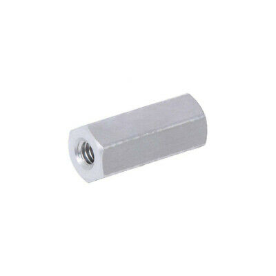 10X 132X12 Screwed spacer sleeve Int.thread: M2,5 12mm hexagonal DREMEC