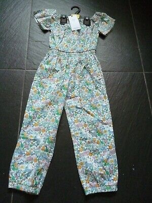 M&S Girls Floral Print Jumpsuit  Age 6-7 BNWT - MARKS AND SPENCER