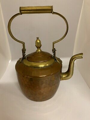Small Copper Kettle 7inches Tall